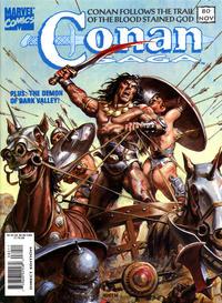 Cover Thumbnail for Conan Saga (Marvel, 1987 series) #80