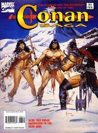 Cover Thumbnail for Conan Saga (Marvel, 1987 series) #83