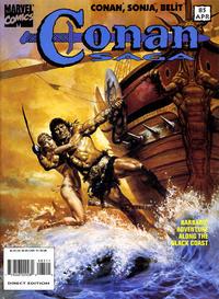 Cover Thumbnail for Conan Saga (Marvel, 1987 series) #85