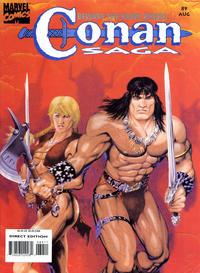 Cover Thumbnail for Conan Saga (Marvel, 1987 series) #89