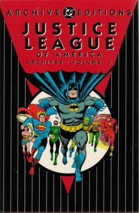 Cover Thumbnail for Justice League of America Archives (DC, 1992 series) #1