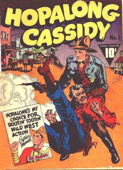 Cover for Hopalong Cassidy (Fawcett, 1943 series) #1
