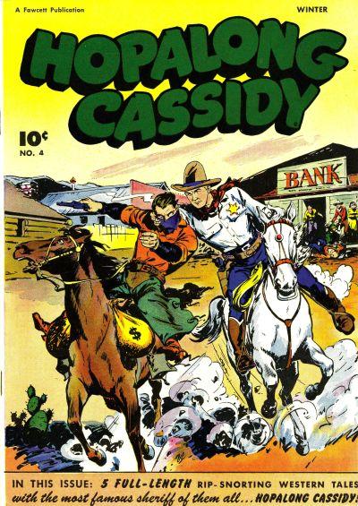 Cover for Hopalong Cassidy (Fawcett, 1946 series) #4