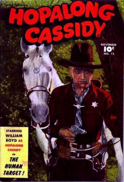 Cover for Hopalong Cassidy (Fawcett, 1946 series) #13