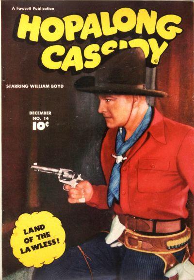 Cover for Hopalong Cassidy (Fawcett, 1946 series) #14
