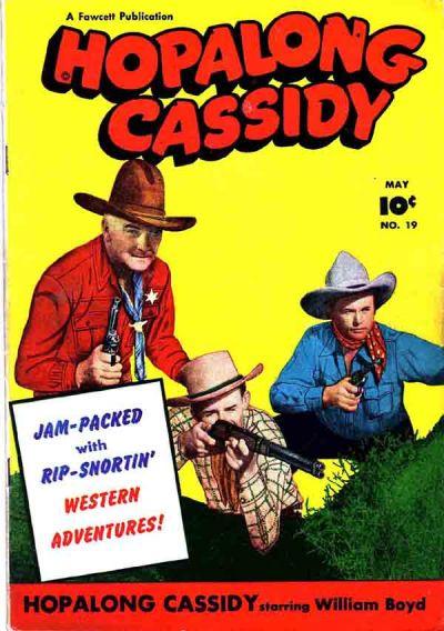 Cover for Hopalong Cassidy (Fawcett, 1946 series) #19