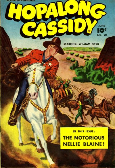 Cover for Hopalong Cassidy (Fawcett, 1946 series) #20