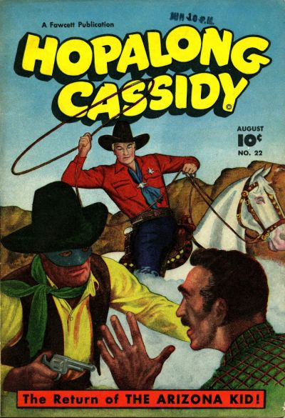 Cover for Hopalong Cassidy (Fawcett, 1946 series) #22