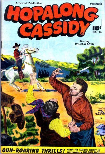 Cover for Hopalong Cassidy (Fawcett, 1946 series) #26