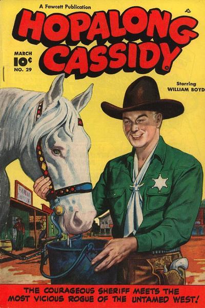 Cover for Hopalong Cassidy (Fawcett, 1946 series) #29