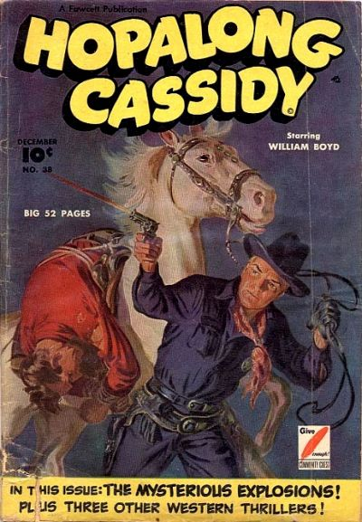 Cover for Hopalong Cassidy (Fawcett, 1946 series) #38