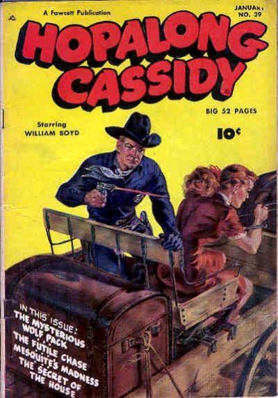 Cover for Hopalong Cassidy (Fawcett, 1946 series) #39