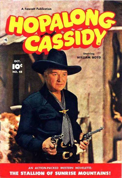 Cover for Hopalong Cassidy (Fawcett, 1946 series) #48