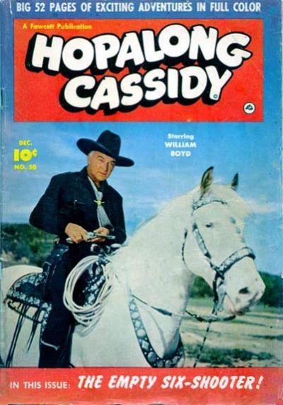 Cover for Hopalong Cassidy (Fawcett, 1946 series) #50