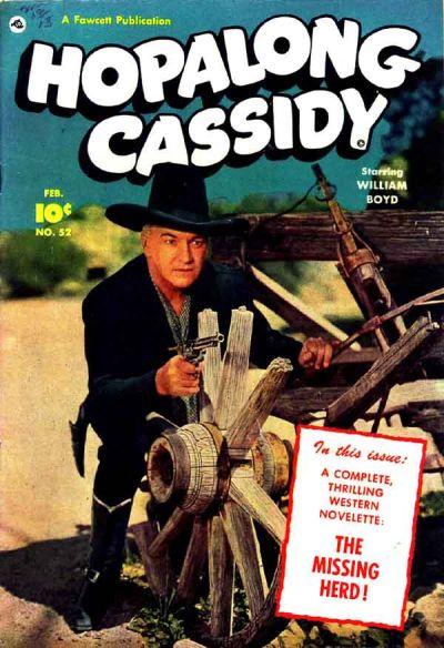 Cover for Hopalong Cassidy (Fawcett, 1946 series) #52