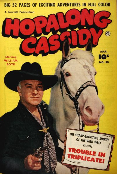 Cover for Hopalong Cassidy (Fawcett, 1946 series) #53