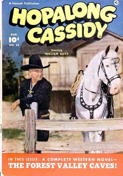 Cover for Hopalong Cassidy (Fawcett, 1946 series) #58
