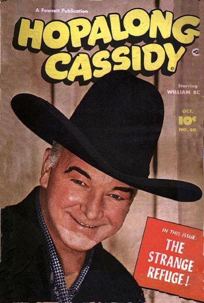Cover for Hopalong Cassidy (Fawcett, 1946 series) #60