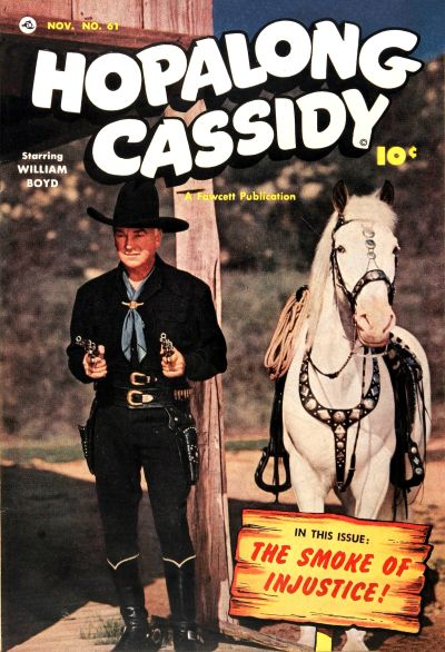 Cover for Hopalong Cassidy (Fawcett, 1946 series) #61