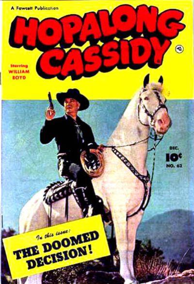 Cover for Hopalong Cassidy (Fawcett, 1946 series) #62