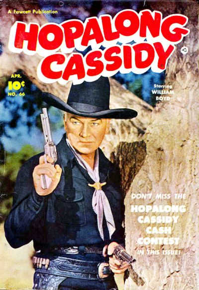 Cover for Hopalong Cassidy (Fawcett, 1946 series) #66