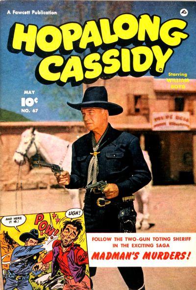 Cover for Hopalong Cassidy (Fawcett, 1946 series) #67