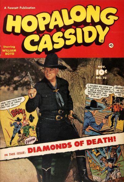 Cover for Hopalong Cassidy (Fawcett, 1946 series) #73