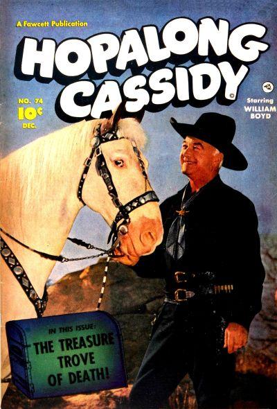 Cover for Hopalong Cassidy (Fawcett, 1946 series) #74