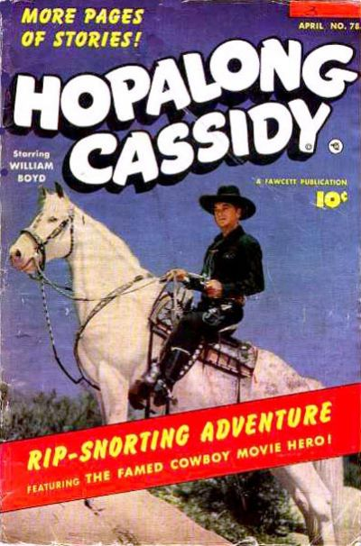 Cover for Hopalong Cassidy (Fawcett, 1946 series) #78