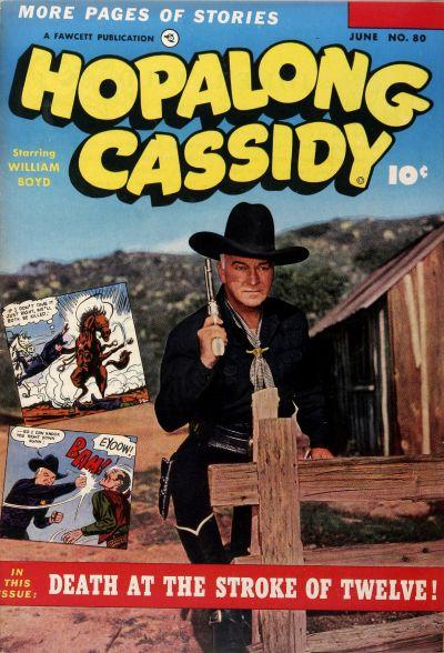 Cover for Hopalong Cassidy (Fawcett, 1946 series) #80