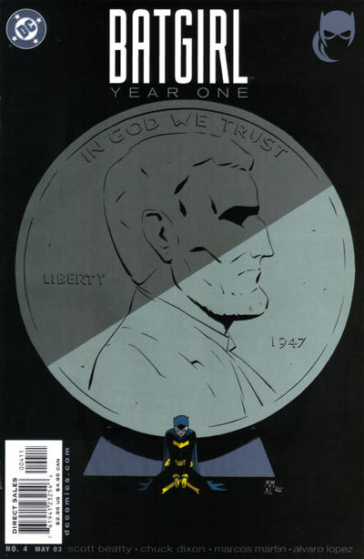 Cover for Batgirl Year One (DC, 2003 series) #4