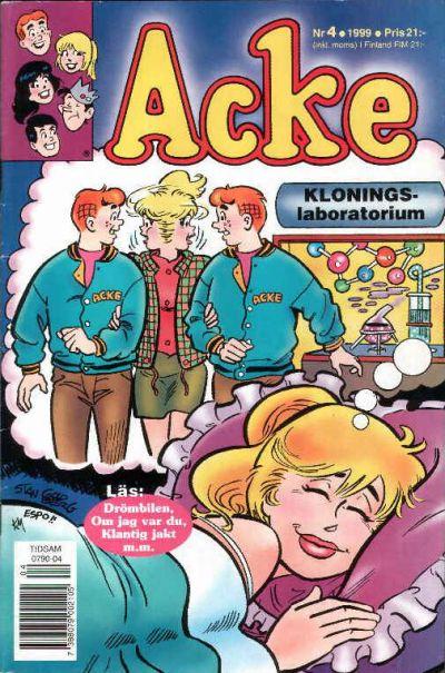 Cover for Acke (Egmont, 1997 series) #4/1999