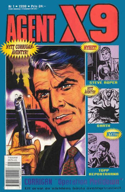 Cover for Agent X9 (Egmont, 1997 series) #1/1998