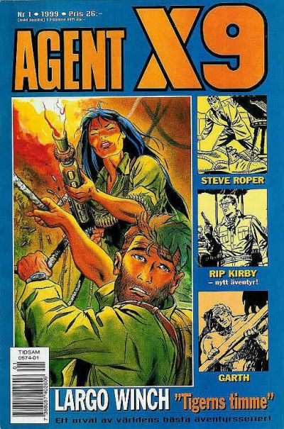 Cover for Agent X9 (Egmont, 1997 series) #1/1999