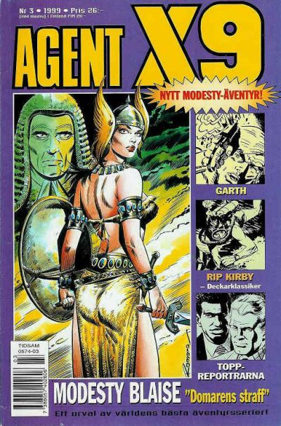 Cover for Agent X9 (Egmont, 1997 series) #3/1999