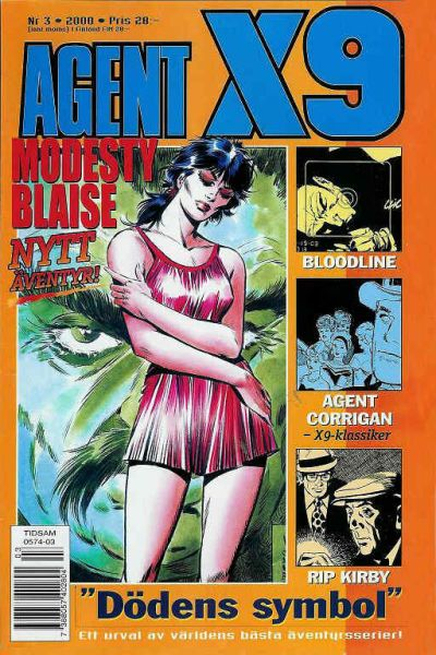 Cover for Agent X9 (Egmont, 1997 series) #3/2000