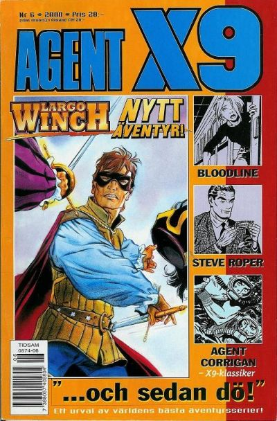 Cover for Agent X9 (Egmont, 1997 series) #6/2000