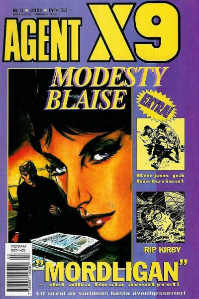 Cover for Agent X9 (Egmont, 1997 series) #5/2001