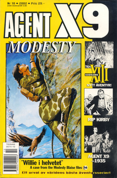 Cover for Agent X9 (Egmont, 1997 series) #10/2002