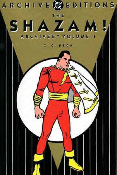 Cover for The Shazam! Archives (DC, 1992 series) #1