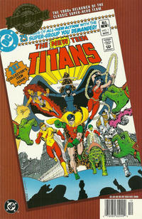 Cover Thumbnail for Millennium Edition: The New Teen Titans 1 (DC, 2000 series)  [Newsstand]
