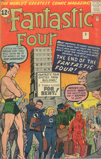 Cover Thumbnail for Fantastic Four (Marvel, 1961 series) #9 [British]