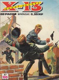 Cover Thumbnail for X-13 Agent Secret (Impéria, 1960 series) #20