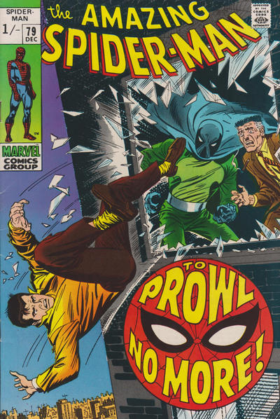 Cover for The Amazing Spider-Man (Marvel, 1963 series) #79 [Regular Edition]