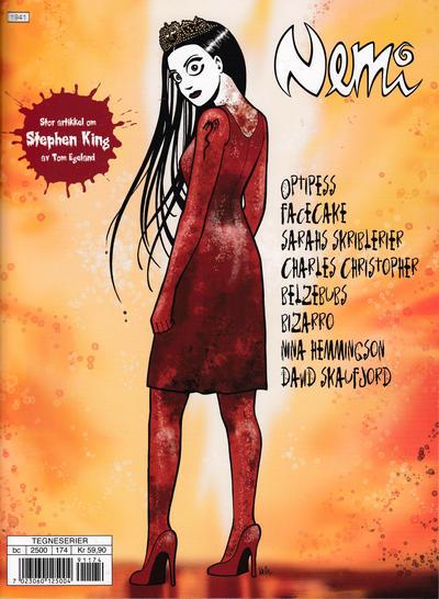 Cover for Nemi (Gyldendal Norsk Forlag, 2018 series) #174