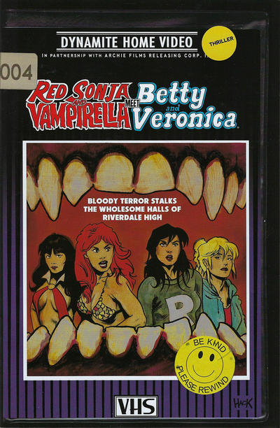 Cover for Red Sonja and Vampirella Meet Betty and Veronica (Dynamite Entertainment, 2019 series) #4