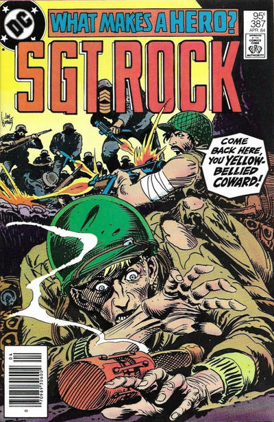 Cover for Sgt. Rock (DC, 1977 series) #387 [Direct]
