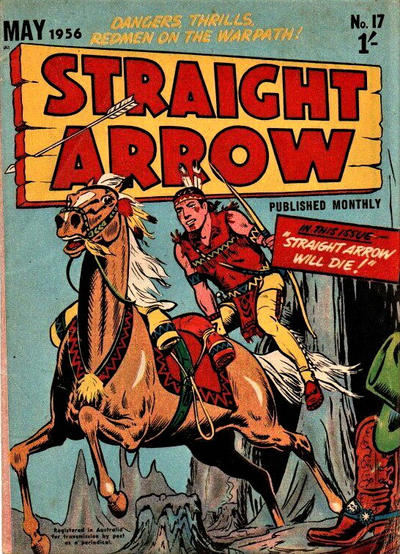Cover for Straight Arrow Comics (Magazine Management, 1955 series) #17
