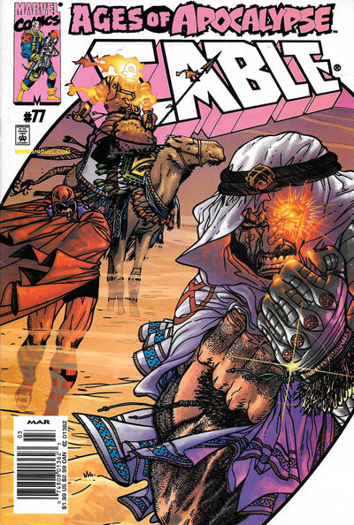 Cover for Cable (Marvel, 1993 series) #77 [Newsstand]
