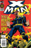 Cover for X-Man (Marvel, 1995 series) #1 [Newsstand]